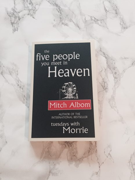 the five people you meet in heaven book report